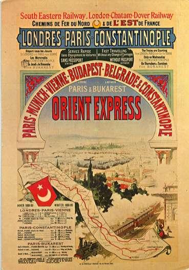 Affiche orient express