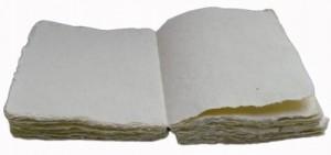 Liasse de papier coton