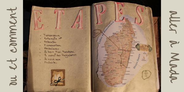 Itineraire à Madagascar