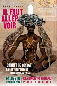 Salon du Carnet de Voyages affiche 2014