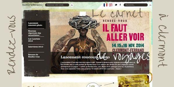 15e Salon du Carnet de Voyages Clermont Ferrand en novembre 2014