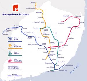 Metro de Lisbonne