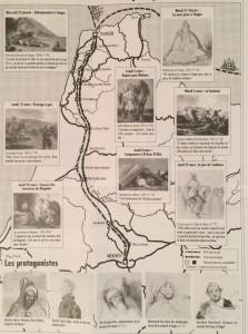 parcours de Delacroix au Maroc