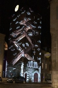 Tour de l'Horloge Beaune Lumieres