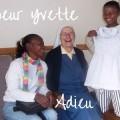 Adieu a Soeur Yvette Jolivet