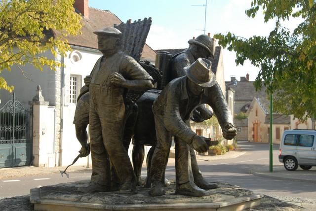 Statue Ppuligny-Montrachet