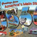 carte postale route 66
