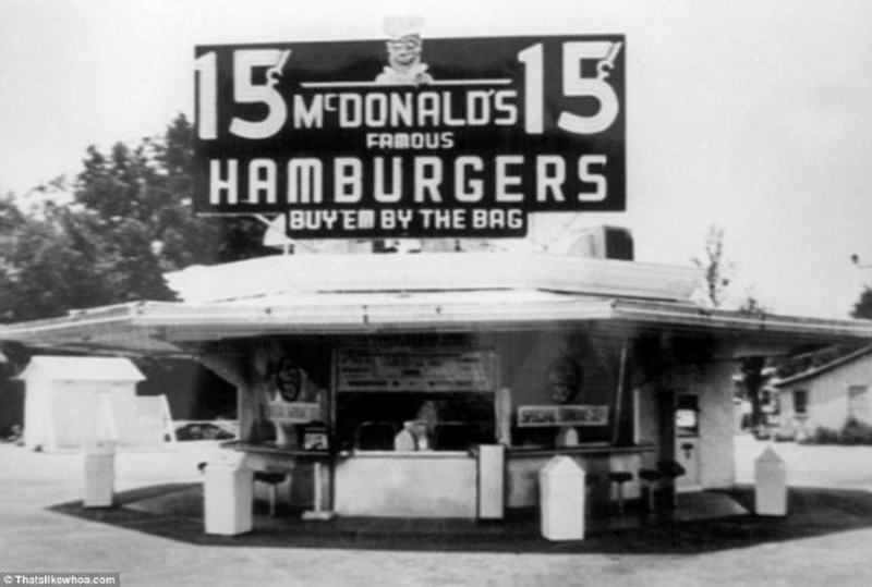 First McDonalds in San Bernardino